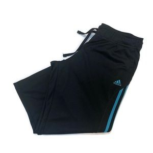 Adidas Straight Crop Athletic Pants